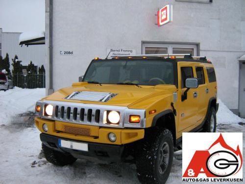 Hummer H2 Erfolgreich Auf Autogas Lpg Umgerüstet