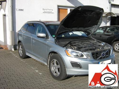 Hedendaags Volvo XC60-3.2 erfolgreich auf Autogas LPG umgerüstet JZ-95